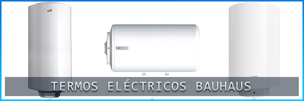 Termos eléctricos Bauhaus